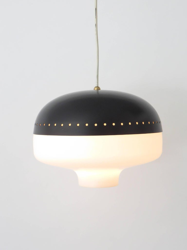 Pendant by Stilnovo designed and manufactured in Italy, circa 1960s.