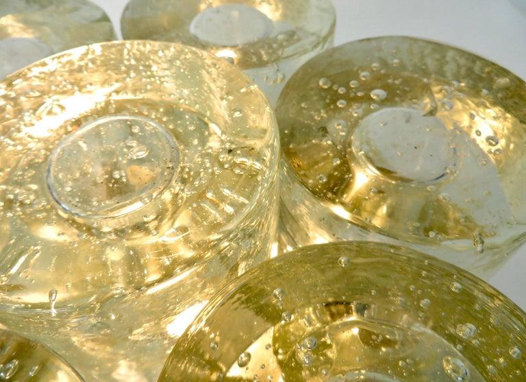 Poliarte Italian Sculptural Murano Glass Table Lamp  For Sale 5