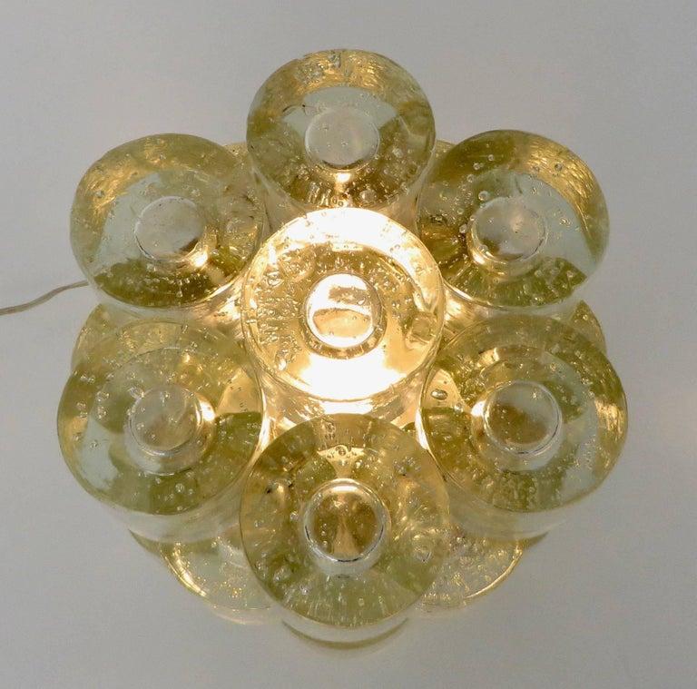 Poliarte Italian Sculptural Murano Glass Table Lamp  For Sale 13