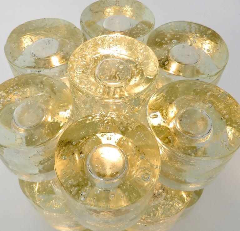 Poliarte Italian Sculptural Murano Glass Table Lamp  For Sale 9