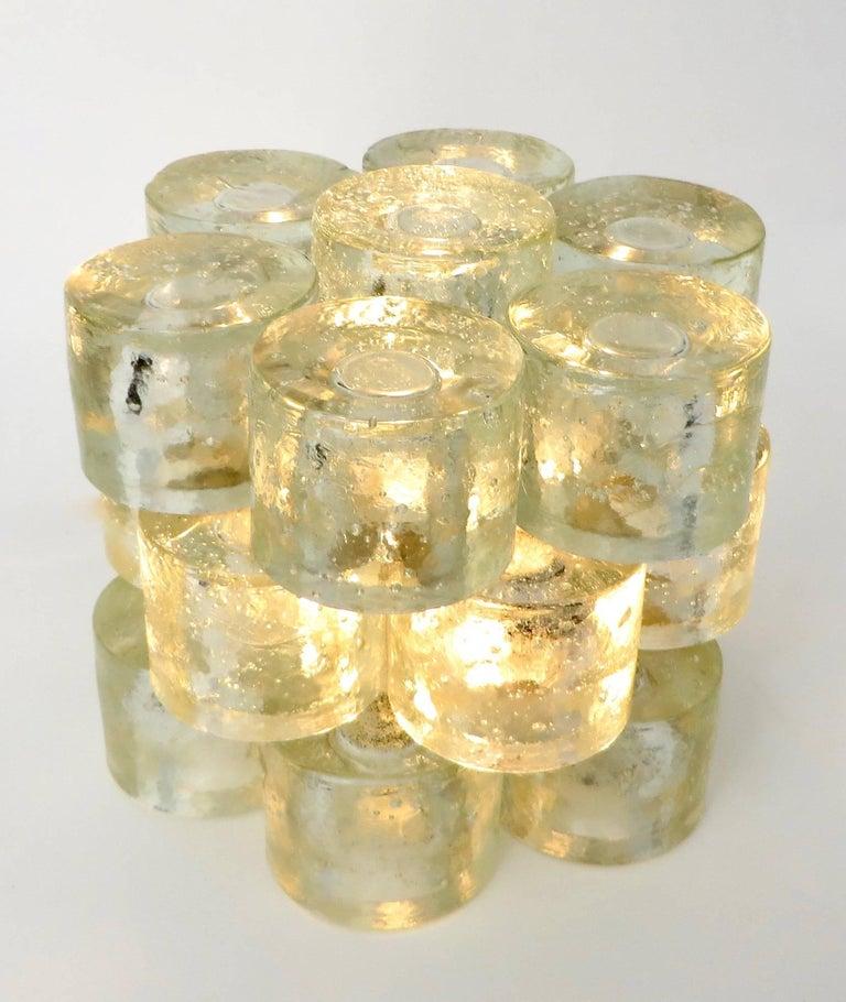 Poliarte Italian Sculptural Murano Glass Table Lamp  For Sale 6