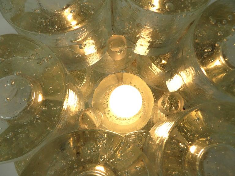 Poliarte Italian Sculptural Murano Glass Table Lamp  For Sale 14