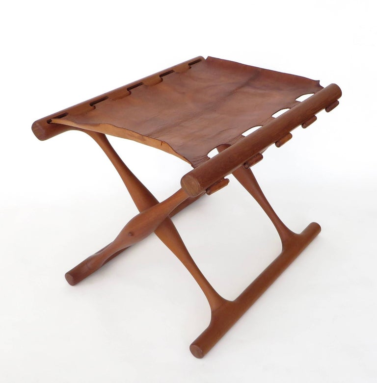 Poul Hundevad Danish Folding Stool PH 43 For Sale 5