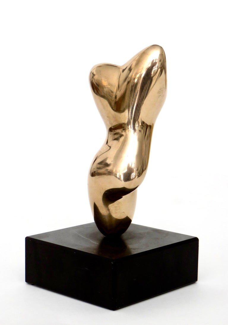 Bronze Sculpture in the Style of Hans Arp For Sale 5
