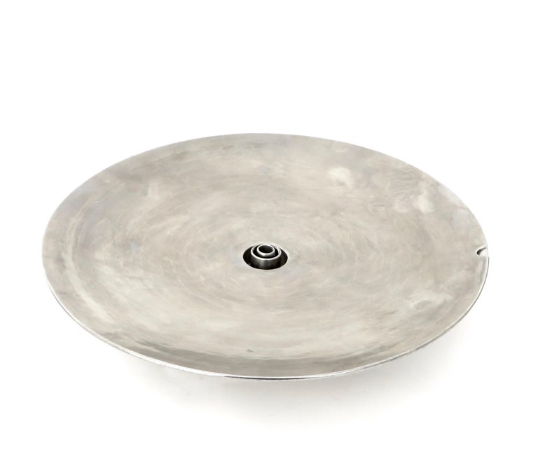 French Inox or Zinc Flower Dish For Sale 5