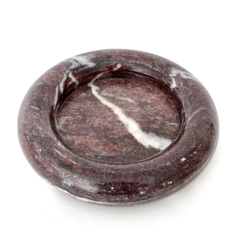 Up & Up Purple Italian Marble Bowl by Egidio Di Rosa & Pier Alessandro Giusti For Sale 6