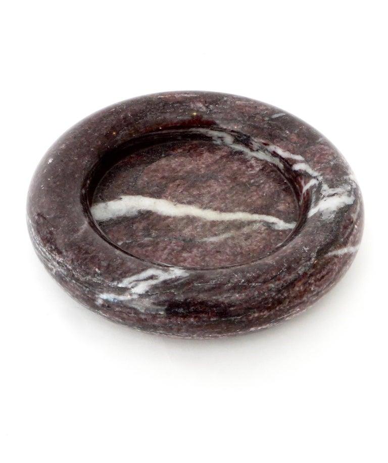 Up & Up Purple Italian Marble Bowl by Egidio Di Rosa & Pier Alessandro Giusti For Sale 10