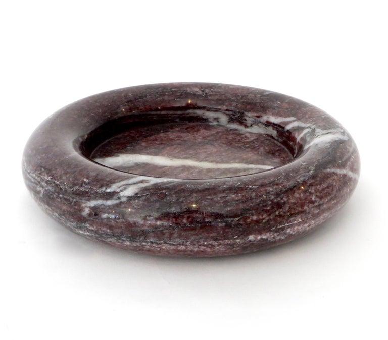 Up & Up Purple Italian Marble Bowl by Egidio Di Rosa & Pier Alessandro Giusti For Sale 11
