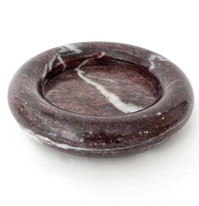 Up & Up Purple Italian Marble Bowl by Egidio Di Rosa & Pier Alessandro Giusti For Sale 9