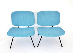 Pierre Paulin CM190 Slipper Lounge Chairs For Thonet