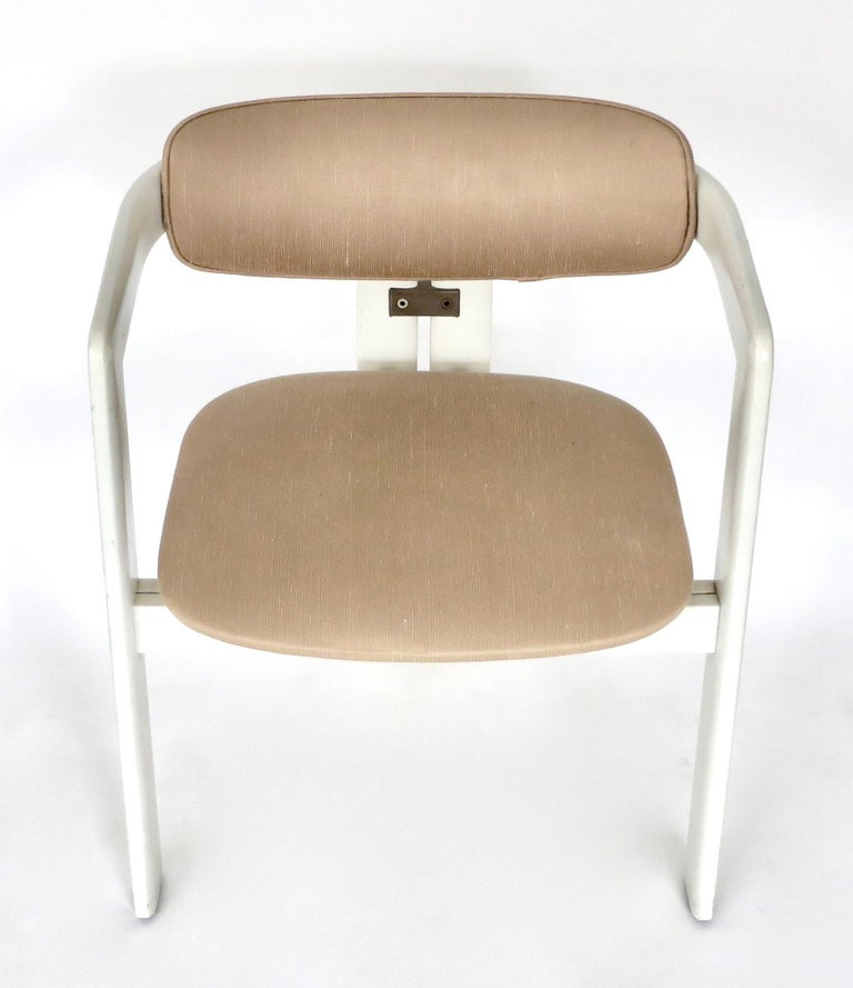 Pair of Pamplona Italian Chairs by Augusto Savini for Pozzi For Sale 1