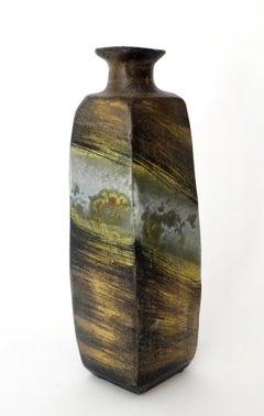 Italian Ceramic Vase or Bottle by Marcello Fantoni for Raymor