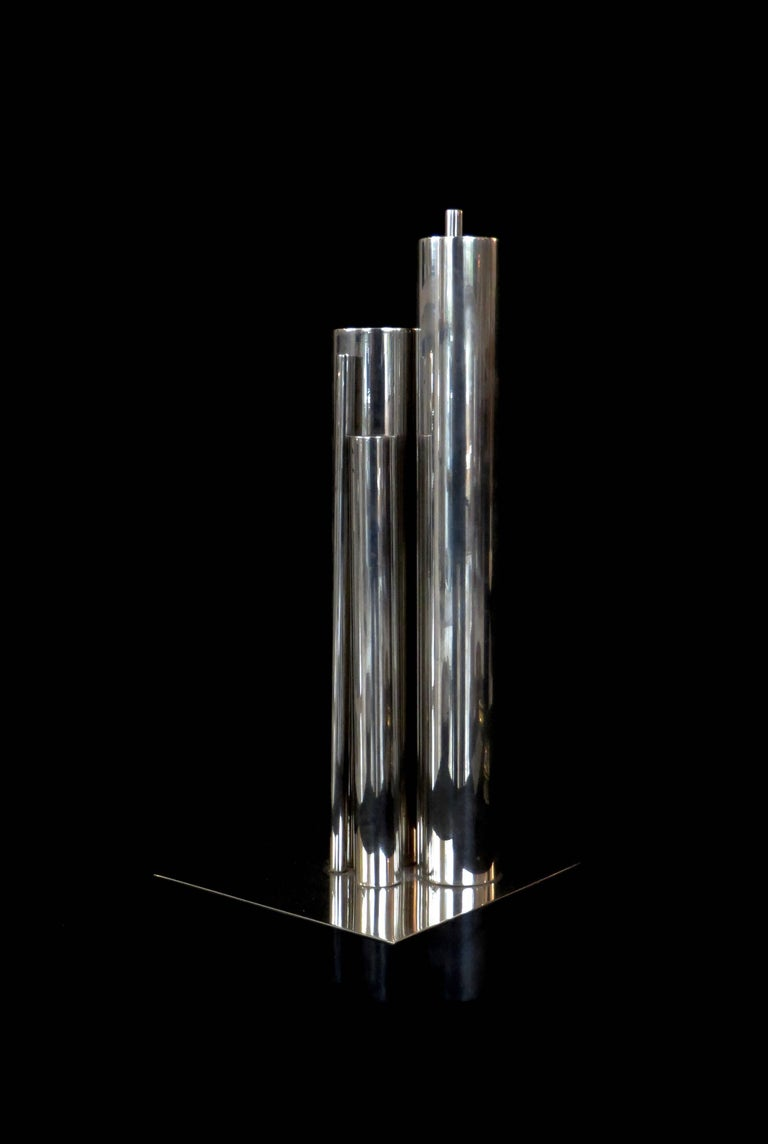Gio Ponti Orgue Vase by Christofle Gallia Collection 2
