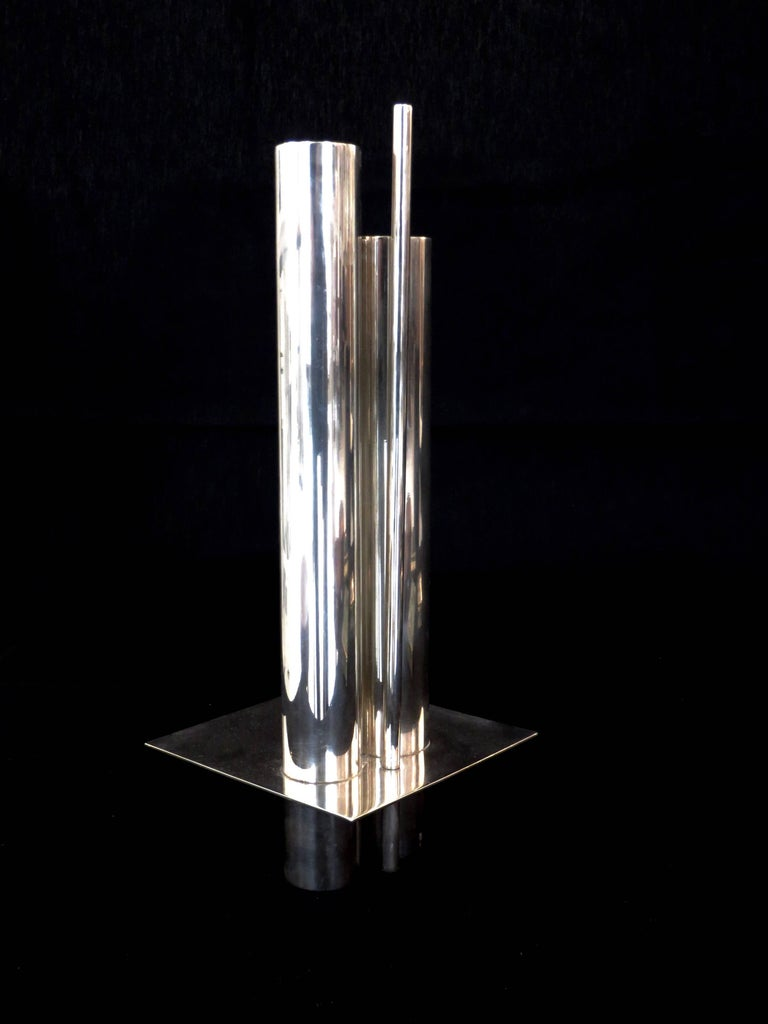 Gio Ponti Orgue Vase by Christofle Gallia Collection 3