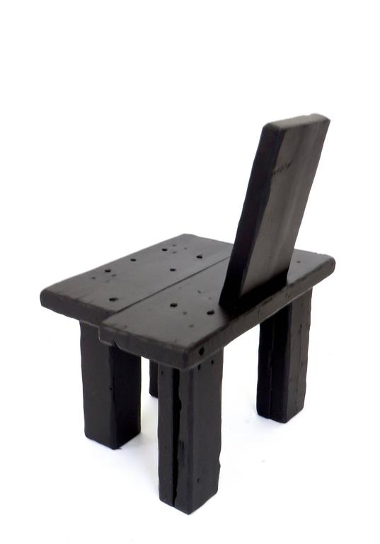 Contemporary Anthropological Collection Chair by Artist Hannah Vaughan, 2017 7