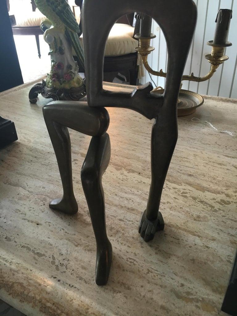 Midcentury Brass Sculpture Arleen Eichengreen and Nancy Gensburg For Sale 2
