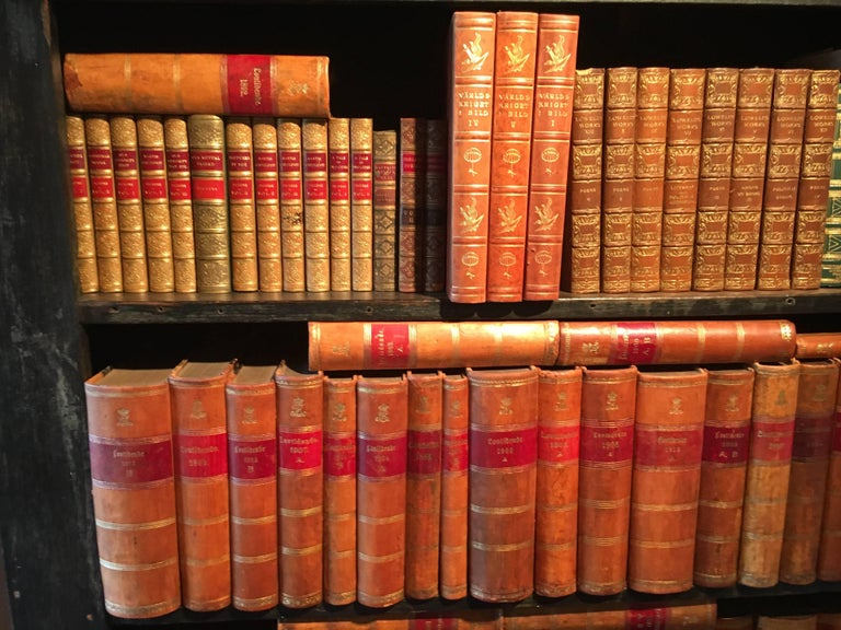 New Shipment Of Assorted Leather Bound Books, Priced Per Book.  For Sale 4
