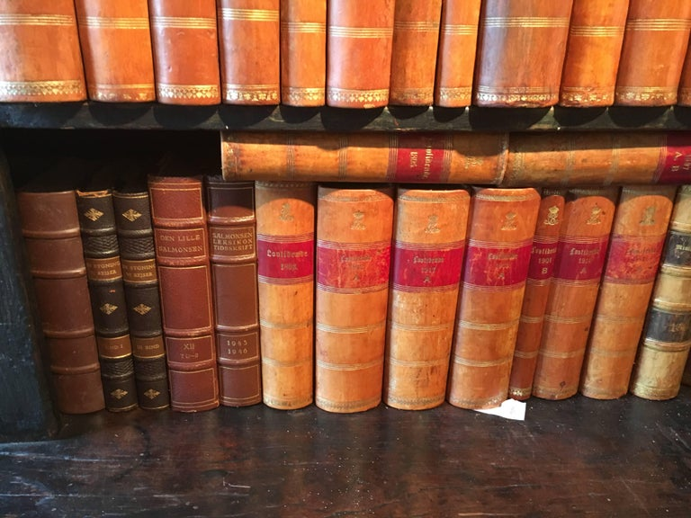 New Shipment Of Assorted Leather Bound Books, Priced Per Book.  For Sale 5