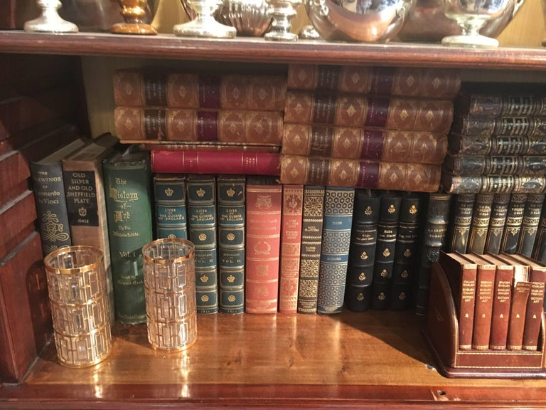 New Shipment Of Assorted Leather Bound Books, Priced Per Book.  For Sale 7