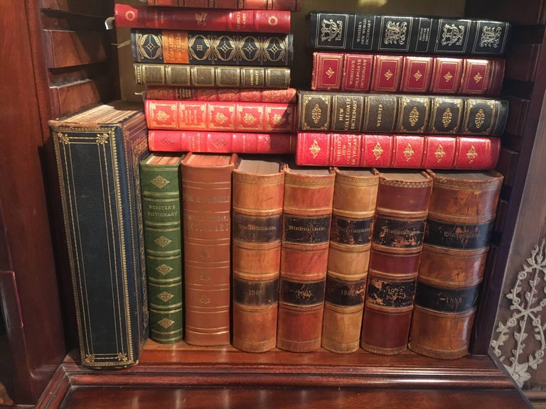 New Shipment Of Assorted Leather Bound Books, Priced Per Book.  For Sale 8
