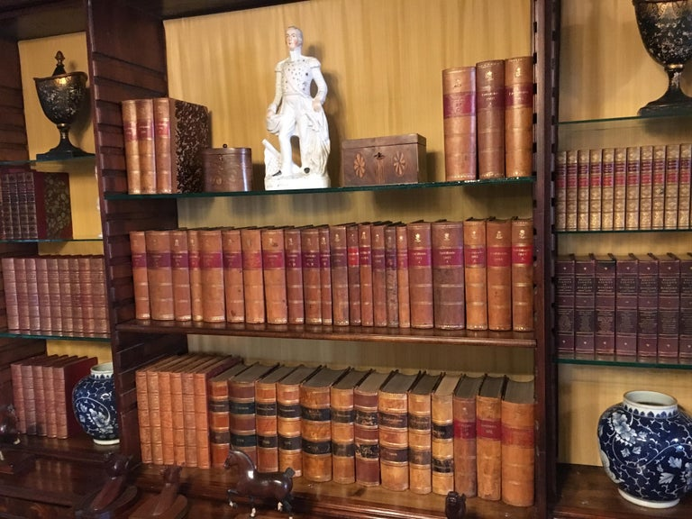 19th Century Collection of Assorted Leather Bound Books, Priced Per Book.  For Sale