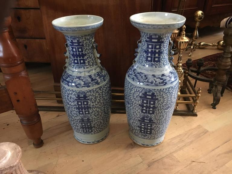 Large Collection Of Chinese Export Blue and White of Large Scale For Sale 3