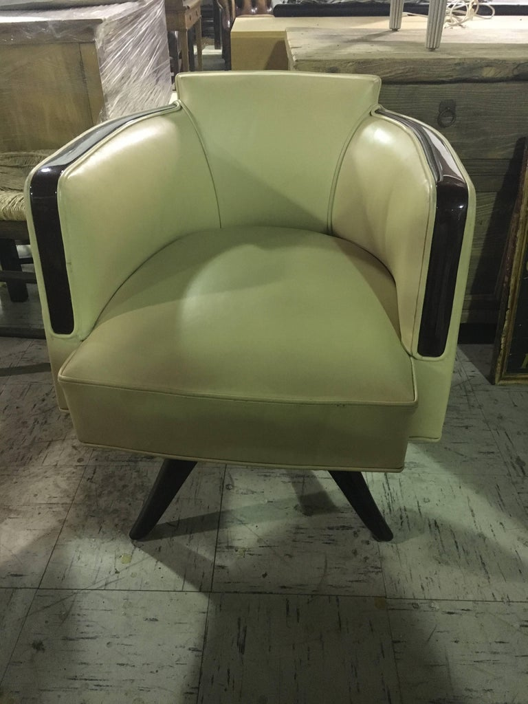 20th Century Very Chic Art Deco Style Armchair or Desk Chair For Sale