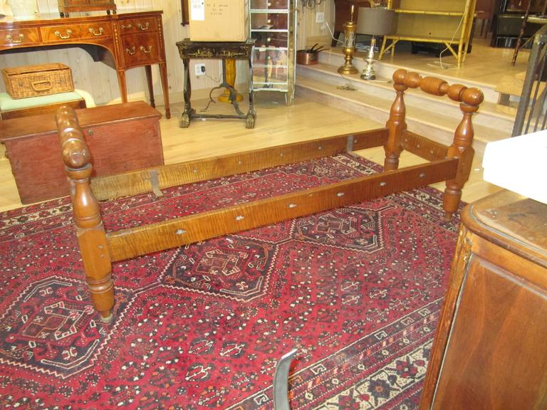 An American Provincial maple daybed 19th century