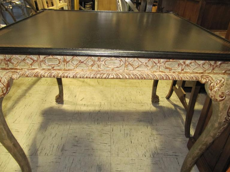 William Switzer Gilt Wood Card Table 4