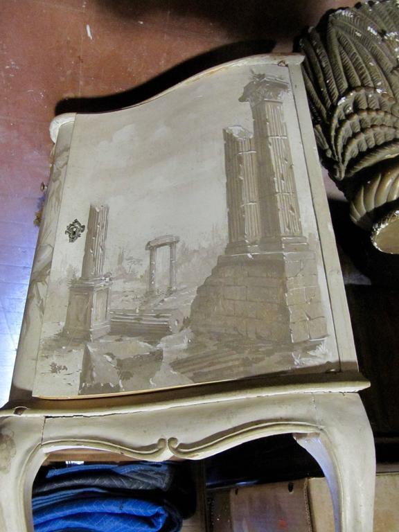 20th Century  Italian Trompe L 'Oeil Sideboard For Sale
