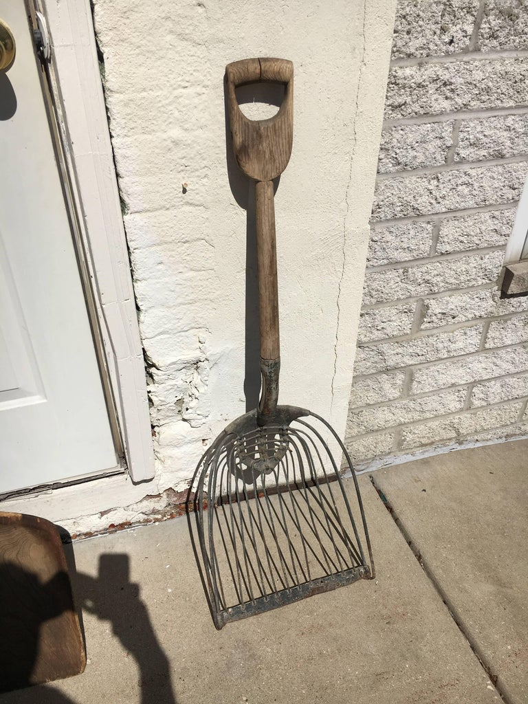 Primitive Early Collection of Amish Farm Tools, Great Use for Wall Sculpture or Accents For Sale