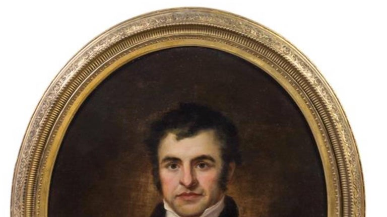 Artist Unknown 19th Century Portrait of Robert Burns Oil on Canvas 2
