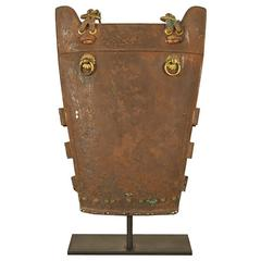 17th Century Japanese Iron Armor Plate
