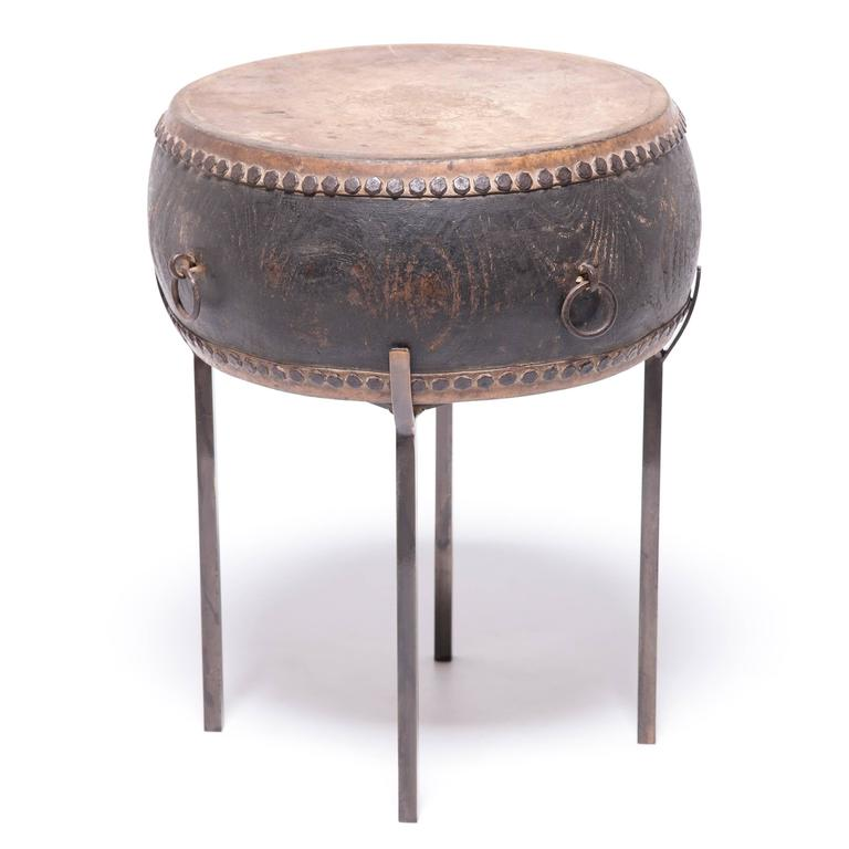 20th Century Chinese Peking Drum Table For Sale