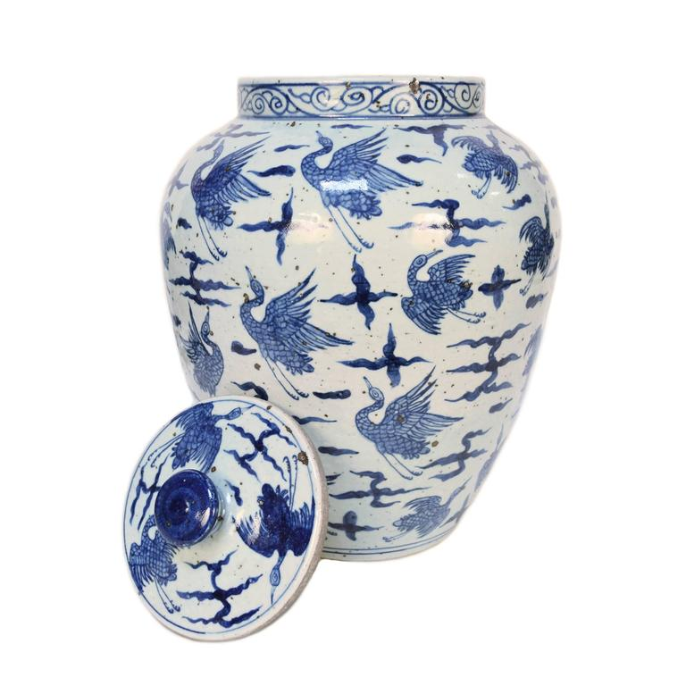 Blue and White Chinese Porcelain Vase 3