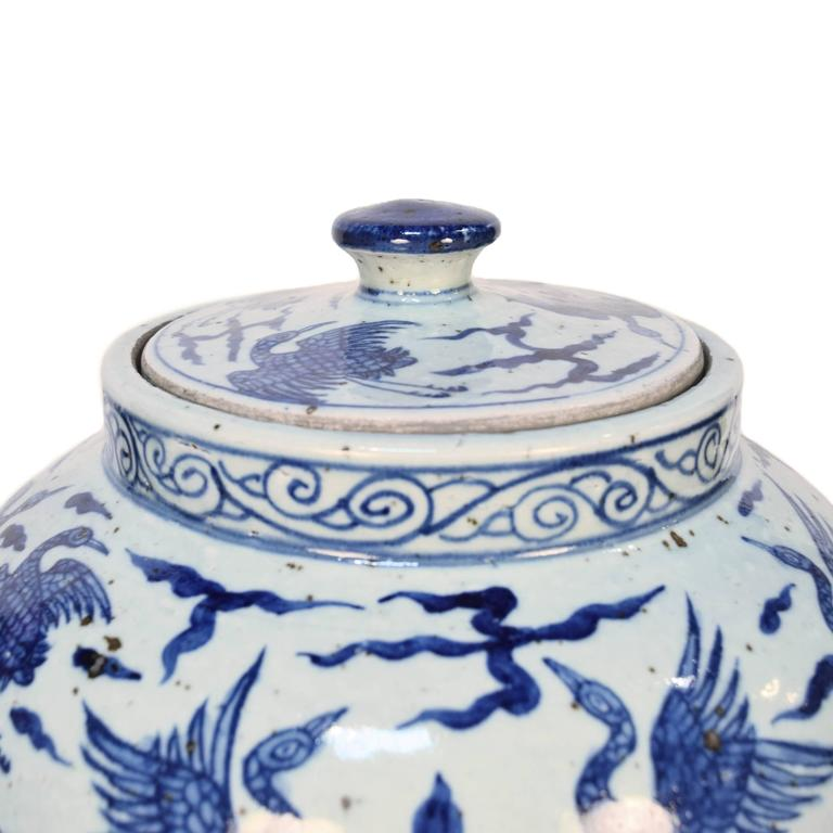 Blue and White Chinese Porcelain Vase 2