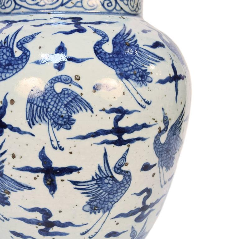 Blue and White Chinese Porcelain Vase 4