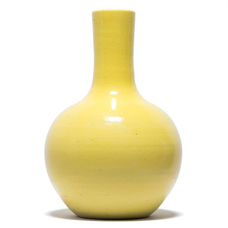 Chinese Citron Gooseneck Vase 2