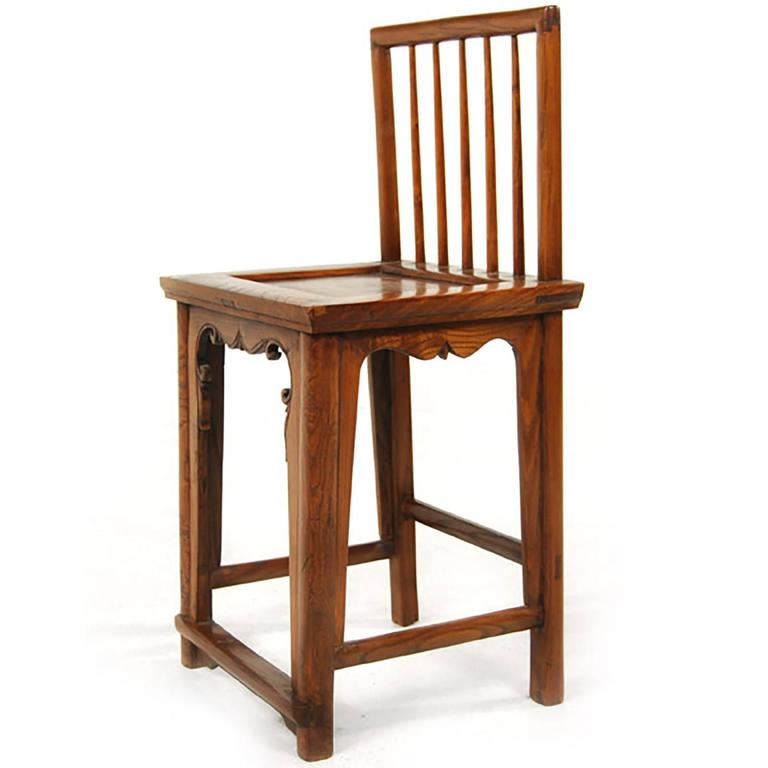 Pair of early 20th century chinese spindleback chairs for for Asian chairs for sale