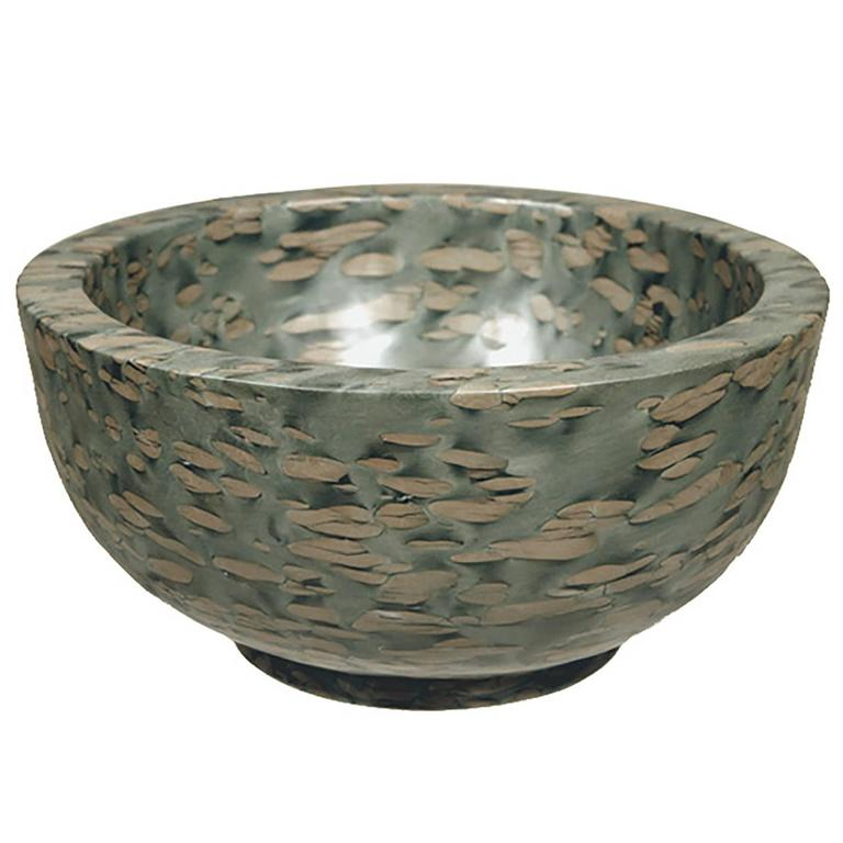 Hand-Carved Chinese Stone Basin