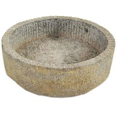 Chinese Low Round Mill Stone