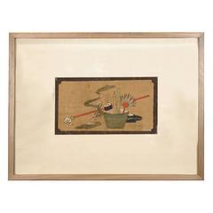 """Treasures of the Scholars' Studio"" Painting"