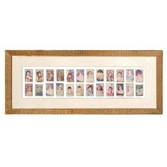 Collection of Vintage Ruby Queen Cigarette Cards