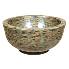 Hand-Carved Chinese Puddingstone Basin