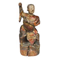 """Chinese """"Zhen"""" Altar Spirit"""