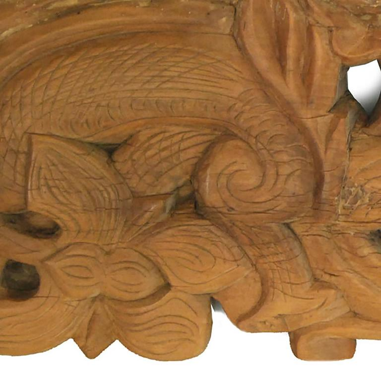 Chinese Double Dragon Architectural Valance 3