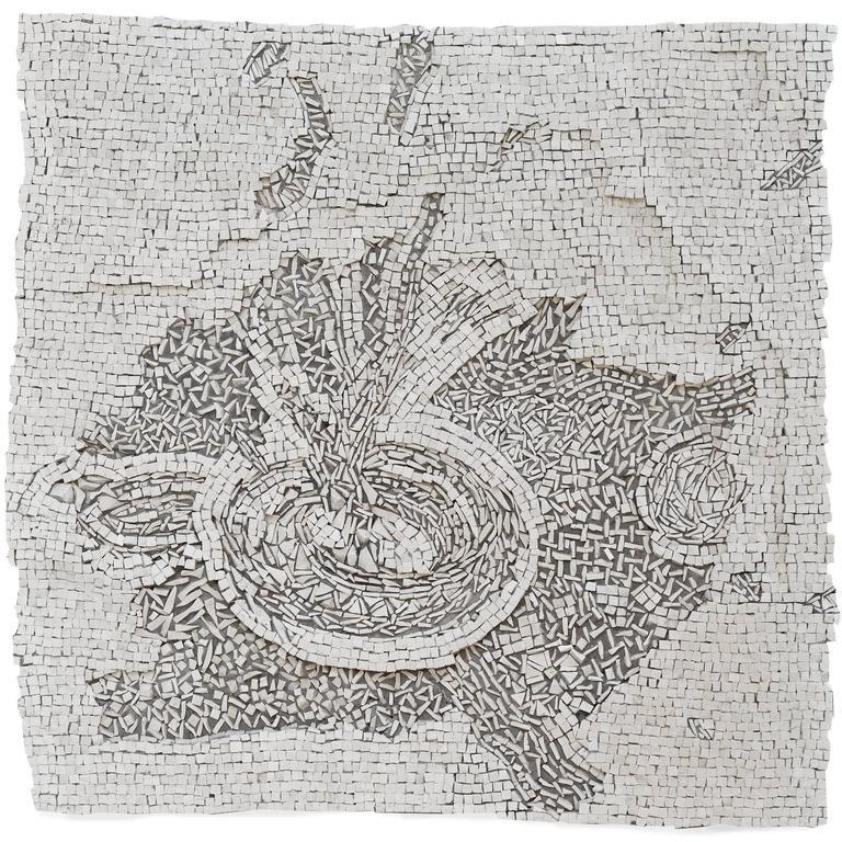 """Fountain"" Mosaic by Toyoharu Kii"