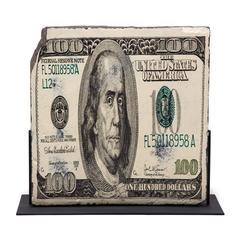"Bank Note by Wang Jin ""USD 100 Dollars"""