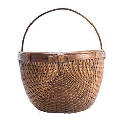 Chinese Willow Market Basket