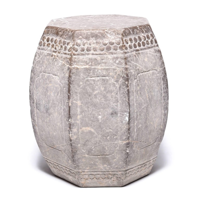 Chinese Eight Corner Stone Drum 2